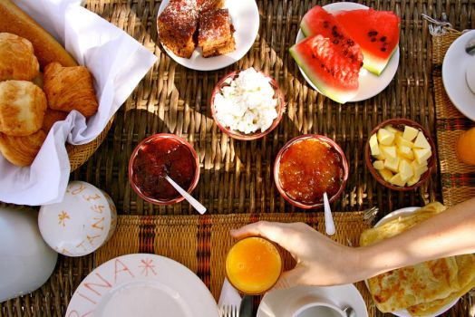 Breakfast in Tangier by etcwhatever