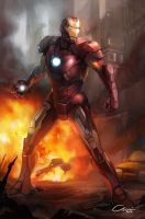 Ironman Mark 7 by Chairgoh