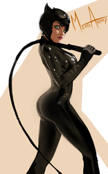Cat Woman by mehdianim