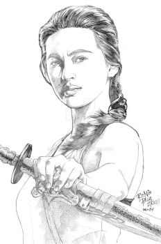 Colleen Wing fanart by RapidBlade