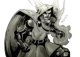 Dr. Doom by MikeES