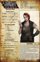 Fallout NewVegas OC-Courier 6 Ann by amyoy