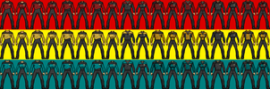 Ranzverse Starfleet Uniforms by SpiderTrekfan616