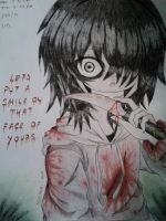 Lets Smile Together [Jeff The Killer] by Six-0-6