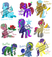 MLP Mixed Adopts by PirateEnderFox