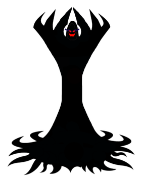 Malachor, the Dark Lord (redesign with mouth) by venjix5