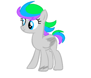 Sky Dash (Rainbow Dash redesign) by Dash-and-her-life