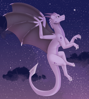 Gift: Up to the stars by CrystalFossil