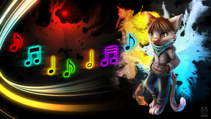 [Commission] Color of Music by thanshuhai