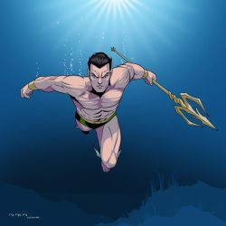 Sub-mariner (Namor) by arunion