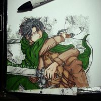 Corporal Rivaille by Hannae07