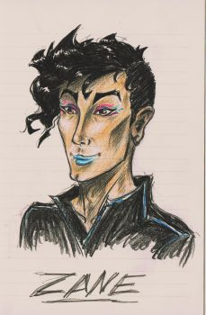 character a day challenge: day 2 ZANE by viveie