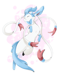 shine bright like a sylveon by PRllNCE