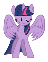 Twilight Sparkle vector (alicorn) by Lampknapp