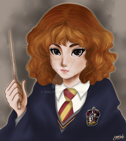 Hermione by yuelyk