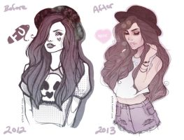 Before and After by qtsie