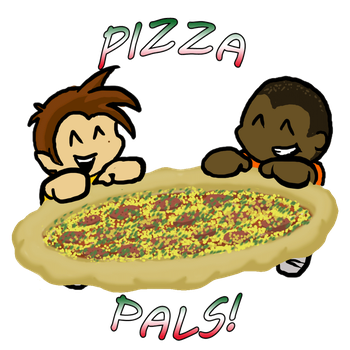 Pizza Pals- LIVESTREAM For DMajorBoss by GazTV-inc