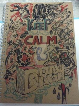 keep calm n draw by SnowAngell88