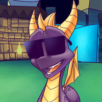 Pimp Spyro returns by BlacklessAngel