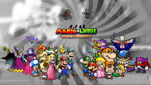 Mario and Luigi: Double Dimensions Cast Concept by Fawfulthegreat64