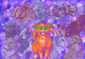 firestars nine lives redraw by selfish-machines