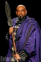 Forest Whitaker as Zuri in Marvel's Black Panther by Artlover67