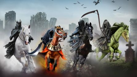 The Four Horsemen of the Apocalypse by Packwood