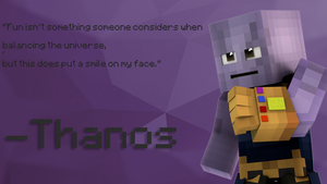 My new Thanos rig by XerxesGWX