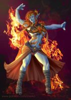 Lyrazi s Firedance by ynorka