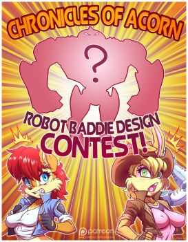 Robot Baddie Design Contest! *ENDS JULY 31st* by Sallyhot