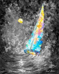STORMY SUNSET limited edition giclee by Leonidafremov