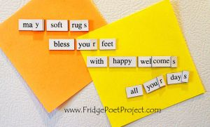 The Daily Magnet #304 by FridgePoetProject