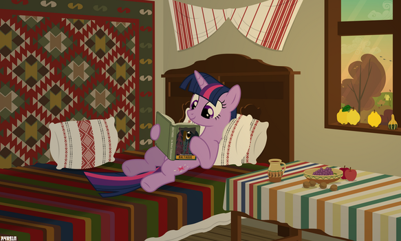 Autumn reading by A4R91N