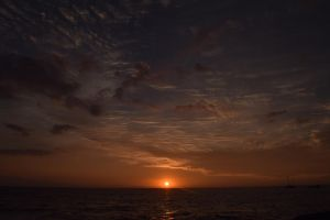 Sunset In Kona, Hawaii by discoinferno84