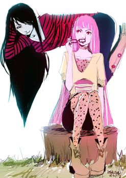 Bubbline by aegisdea