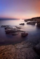 Peaceful Sunset by pkritiotis