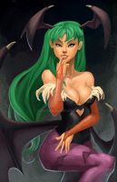 Morrigan Aensland by Keeterz