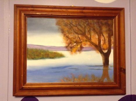 Tree on the Water by PurpleInsperation7