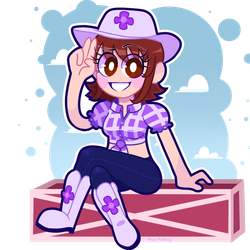 Cowgirl Penny by pplum-puddingg
