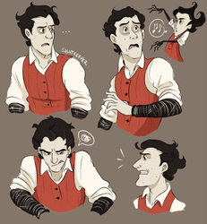 Wilson Doodles by GarrulousGibberish