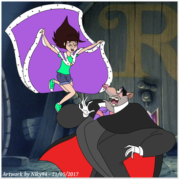 Ratigan and Niky - Booooh! by Niky94