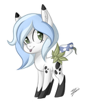 Domino Cell Shaded Chibi by peaceouttopizza23
