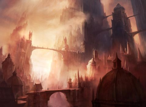 Mountain (Return to Ravnica) by AdamPaquette