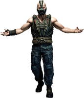 Bane Tom Hardy Transparent background by Gasa979
