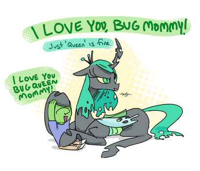 Nobby's Bugmom by Adequality