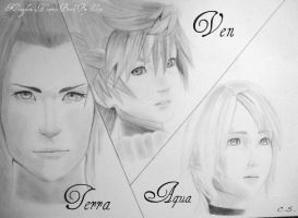 Ven, Aqua and Terra! by Cate397