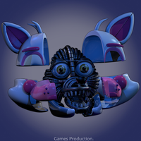 Funtime Foxy V2  Endo WIP (4K) by GamesProduction