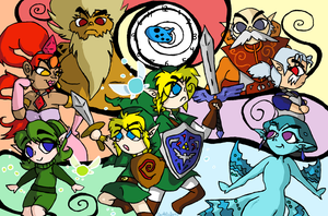 Zelda : Wind Waker of Time by SaintsSister47