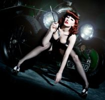 Pin up shoot 3 by Ryo-Says-Meow