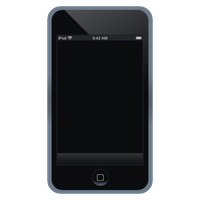 ipod touch icon :svg: by lopagof